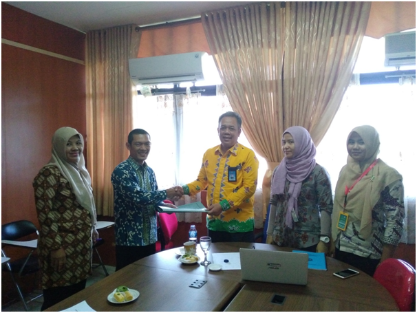 Suasana Kelompok saat Malakukan Latihan Audit Mutu Internal.